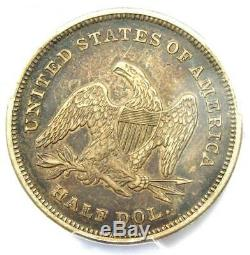 1839 Drapery Seated Liberty Half Dollar 50C Certified PCGS XF Details (EF)