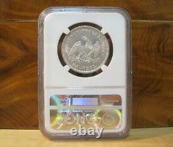 1839 Seated Liberty Silver Half Dollar Coin (Drapery) Graded XF45 by NGC