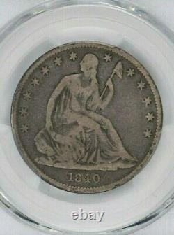 1840-O 50c Seated Liberty Half Dollar PCGS VG 10 Witter Coin