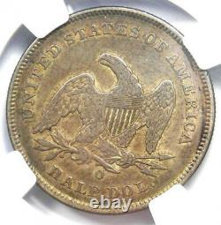1840-O Seated Liberty Half Dollar 50C Certified NGC XF Detail Rare Coin