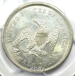 1840 Seated Liberty Half Dollar 50C PCGS Uncirculated Details (MS UNC) Rare