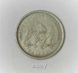 1840 Seated Liberty Half Dollar Extra Fine