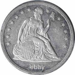 1841 Liberty Seated Silver Half Dollar AU50 PCGS