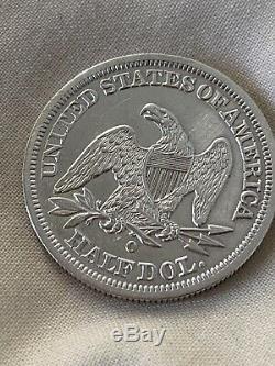 1844-O SEATED LIBERTY Half Dollar HIGH GRADE BEAUTIful Coin