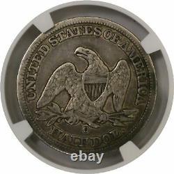 1846 O 50C Medium Date Seated Liberty Half Dollar Silver NGC XF40 Coin