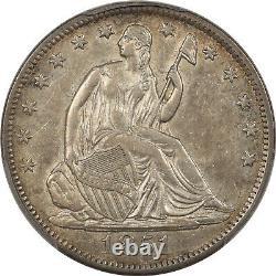 1851-o Seated Liberty Half Dollar Pcgs Au-50 Tough Date
