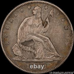 1852-O Liberty Seated Half Dollar PCGS XF40 Low Mintage 0f only 144,000
