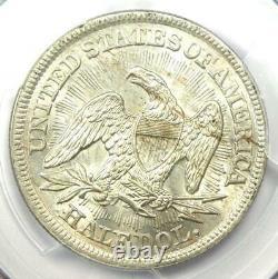 1853 Arrows Seated Liberty Half Dollar 50C PCGS MS62 (BU UNC) $2,250 Value
