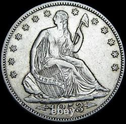 1853 Seated Liberty Half Dollar Silver - Stunning Type Coin - #N718