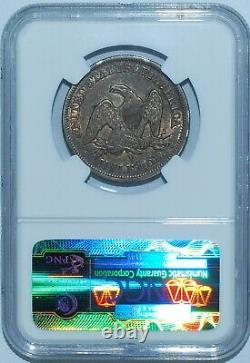 1854 O NGC AU55 Seated Liberty Half Dollar With Arrows