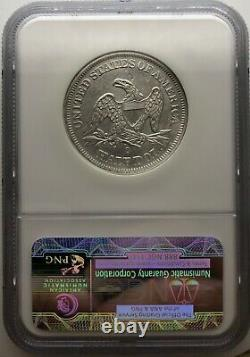 1855-O ARROWS NGC Shipwreck SS Republic Seated Liberty Half Dollar 50c US Coin