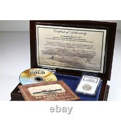1858 O Seated Liberty 50C Shipwreck SS REPUBLIC Coin with DELUXE BOX DVD & COA