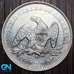 1858 O Seated Liberty Half Dollar - MAKE US AN OFFER! #K6027