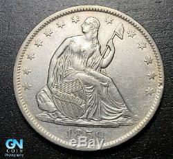 1859 O Seated Liberty Half Dollar - MAKE US AN OFFER! #B3493