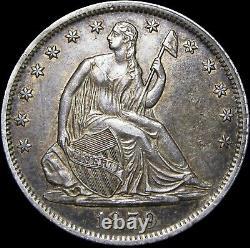 1859-O Seated Liberty Half Dollar Silver - STUNNING Type Coin - #F236