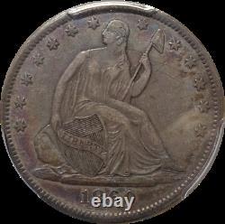 1860-O Seated Liberty Half Dollar PCGS XF45 Eye Appeal