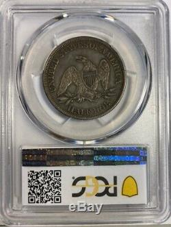 1861 Liberty Seated Half Dollar PCGS XF45 Civil War Era