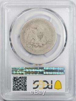1861 O 50C CSA Obverse Seated Liberty Half Dollar PCGS AG 3 Looks Better