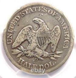 1861-O CSA Obverse Seated Liberty Half Dollar 50C FS-401 PCGS Fine Details