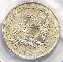 1861-O CSA Obverse Seated Liberty Half Dollar 50C FS-401 WB-102 PCGS AU Detail