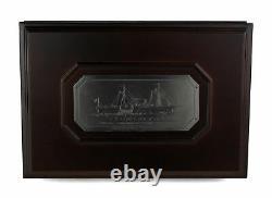 1861-O Seated Liberty Half Dollar SS Republic NGC Shipwreck in Display Case