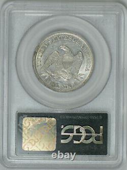 1861 Seated Liberty Half Dollar AU 58 PCGS Civil War