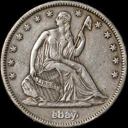 1865-S Seated Half Dollar Choice XF Great Eye Appeal Nice Strike