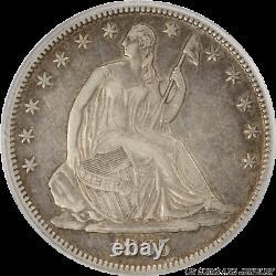 1865-S Seated Liberty Half Dollar PCGS XF45