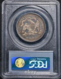 1866 Seated Half Dollar Motto CAC Sticker PCGS PR64 Superb Eye Appeal
