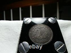 1869 Seated Liberty Half Dollar Nice Collectible Problem Free Coin 90% Silver