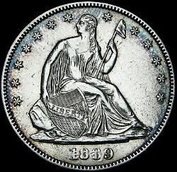 1869 Seated Liberty Half Dollar - STUNNING - #F464