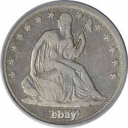 1870-CC Liberty Seated Silver Half Dollar VG08 PCGS