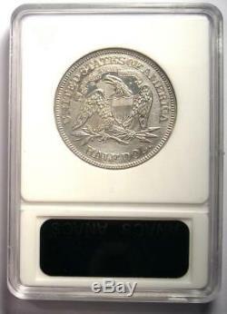 1870 PROOF Seated Liberty Half Dollar 50C ANACS PR60 Detail (PF60) Rare Coin