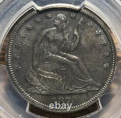 1870 S Seated Liberty Half Dollar PCGS MS 62