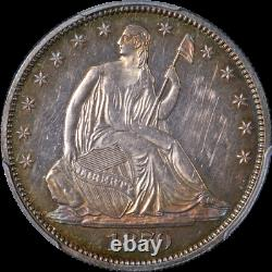 1870 Seated Half Dollar Proof PCGS PR62 Great Eye Appeal Strong Strike