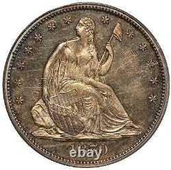 1870 U. S. Seated Liberty Half Dollar 50 Cents Silver Proof Coin PCGS PR 64