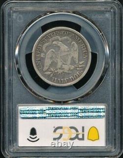 1873-CC withArrows Carson City Seated Liberty Half Dollar PCGS Gold Shield VG 08