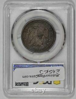1875 CC 50c Liberty Seated Half Dollar PCGS VF35