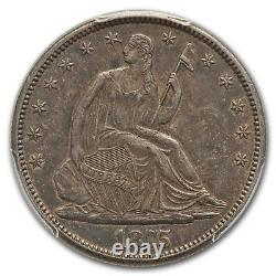 1875-CC Liberty Seated Half Dollar AU-50 PCGS SKU#167712