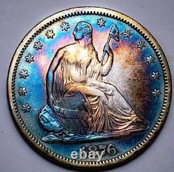 1876 S Seated Liberty Half Dollar Key Date 276