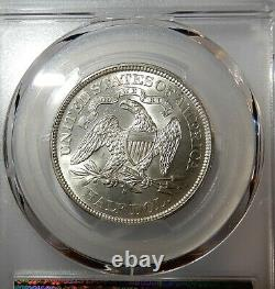 1876-S Seated Liberty Half Dollar PCGS MS62 (Secure Holder)