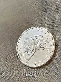 1876 Silver Seated Liberty Half Dollar Beautiful Stunning High Grade Rare