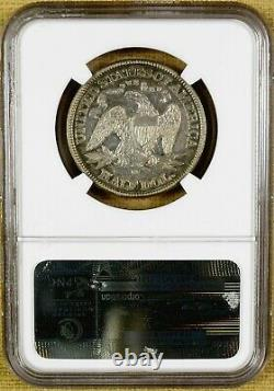 1877-CC NGC XF40 Seated Half Dollar Better Date