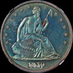 1879 Seated Half Dollar Proof NGC PF64 Superb Eye Appeal Strong Strike