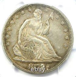 1879 Seated Liberty Half Dollar 50C PCGS XF Details (Damage) Rare Date