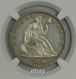 1880 Seated Liberty Half 50c PF58 PR58 NGC 944610-3