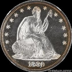 1880 Seated Liberty Half Dollar Super Nice Look NGC Proof 63