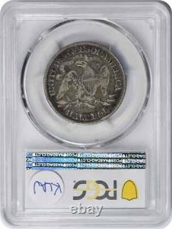 1883 Liberty Seated Silver Half Dollar F15 PCGS