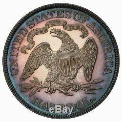 1884 50C Liberty Seated Half Dollar PCGS PR64