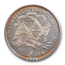 1884 50C Seated Liberty Half Dollar PCGS PR 63 Proof OGH Undergraded